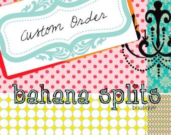 Custom Order for Katia