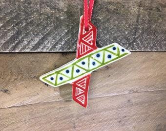 Ornament - U X Y Z - Alphabet Letter Ornament / Monogram - READY TO SHIP