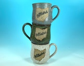 Hilliard, Ohio Mug in Various Colors // Handmade Ceramic Mug // Gifts  for Ohioans, Travelers or College Students - READY TO SHIP