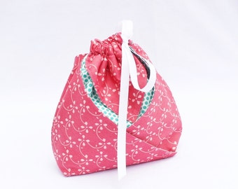 Origami Gift Bag - Sweet by Urban Chiks for Moda in Pink