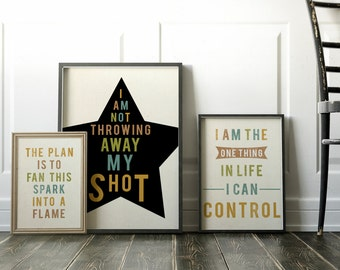 Hamilton, Coworker gift, Hamilton Musical, Hamilton the Musical, Gift best Friend, Gift for Him, Hamilton Broadway, Alexander Hamilton