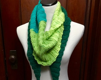Handmade Kerchief Scarf: Be warm, cozy and colorful this winter!