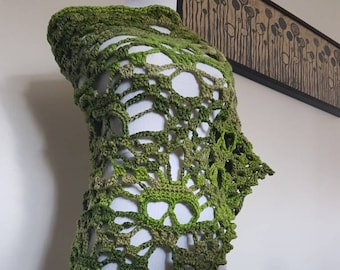Celebrate Spring! A Skull Shawl with Oomph!