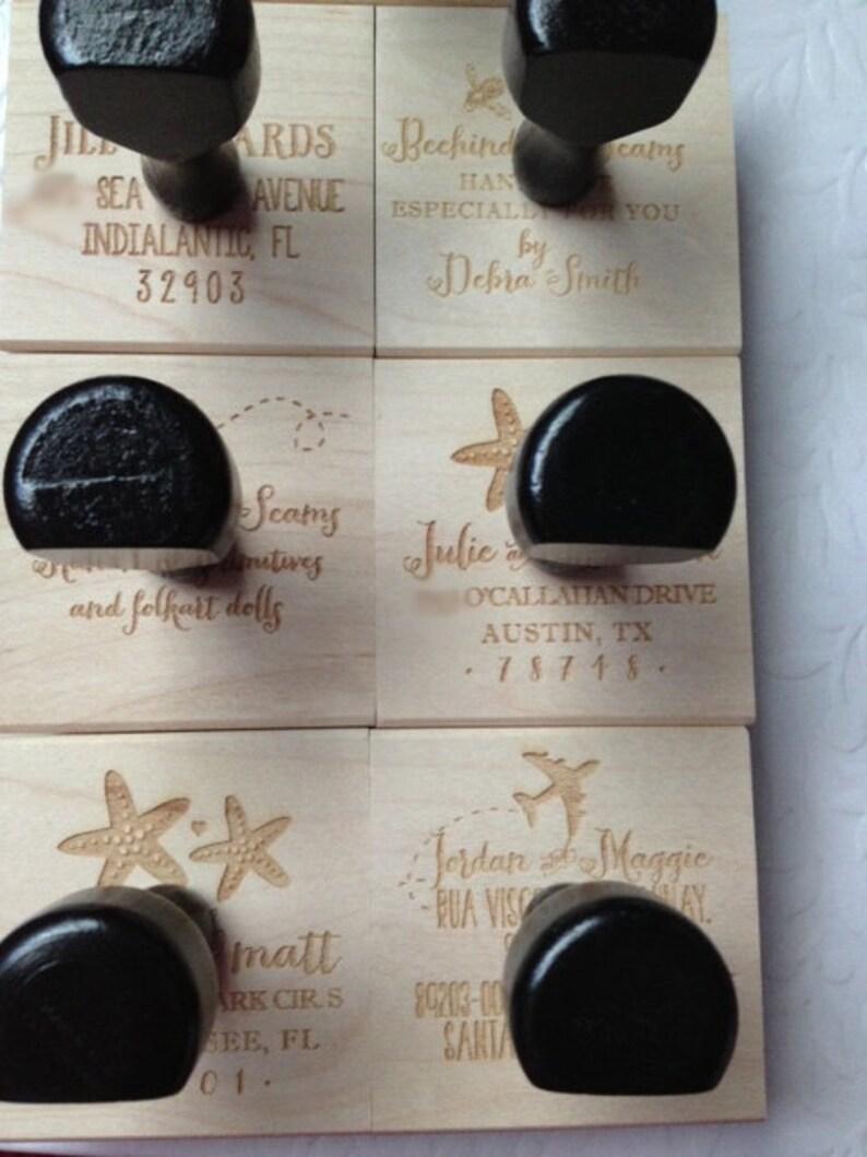 Mason Jar Wedding Name Rubber Stamp or Self Inking Stamp Heart