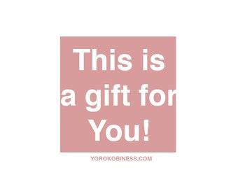 Buono Regalo   Gift Card   Buono Sconto   Yorokobiness Gift Card