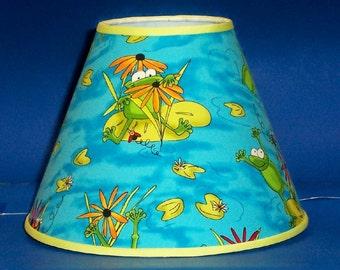 Frog Lilypad Lamp Shade