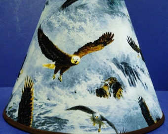 American Bald Eagle Lamp Shade