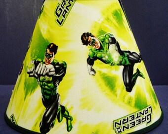 Green Lantern Marvel Lamp Shade