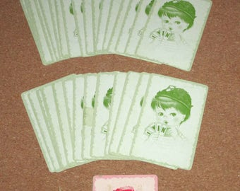 Vintage Deck NUMBERS I-Win Playing Cards Flash Cards Fun with Numbers Arithmetic