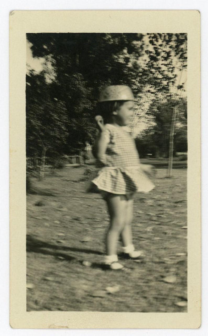 Vernacular Photo 86 She Found Her Helmet