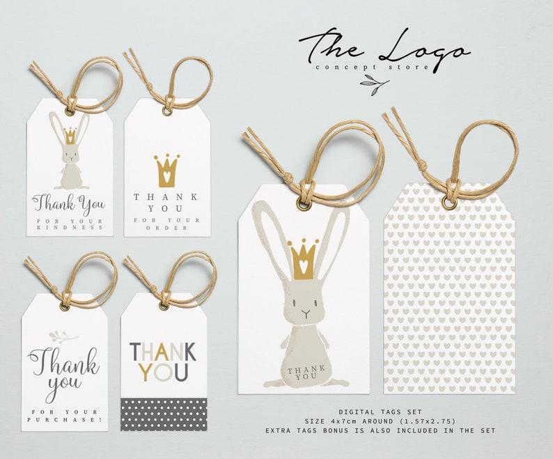 Branch Nordic Design Business Tags Printable Business Thank You Tags Minimalist Gift Thank you Tags Modern Scandinavian Design