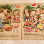 1930s Ruth E. Newton Original Prints or Pages from a Children's Book Puppies and Kittens