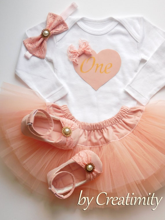 19d86fdc1 Baby Girl Birthday Outfit First Birthday Outfit Tutu Skirt