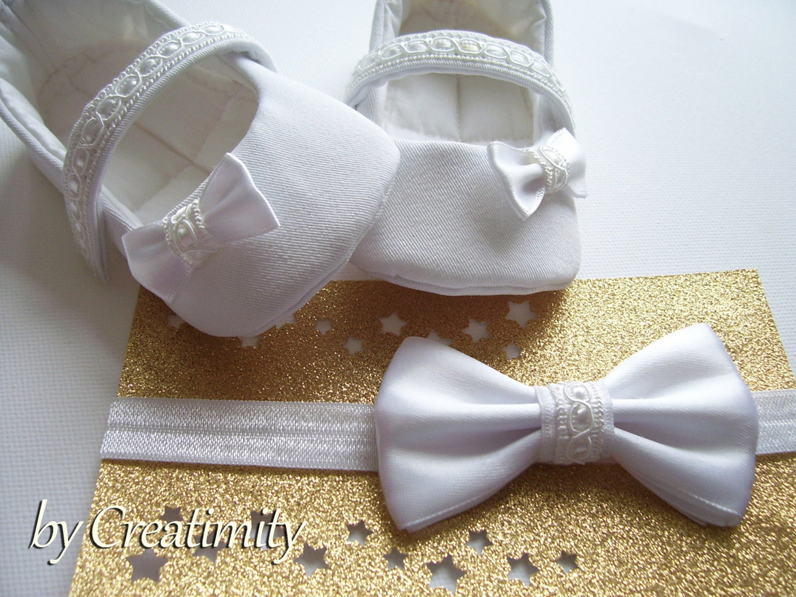 baby |girl baptism shoes baby gift baby shower soft soled shoes wedding shoes white girl shoes ballet flats baby headband