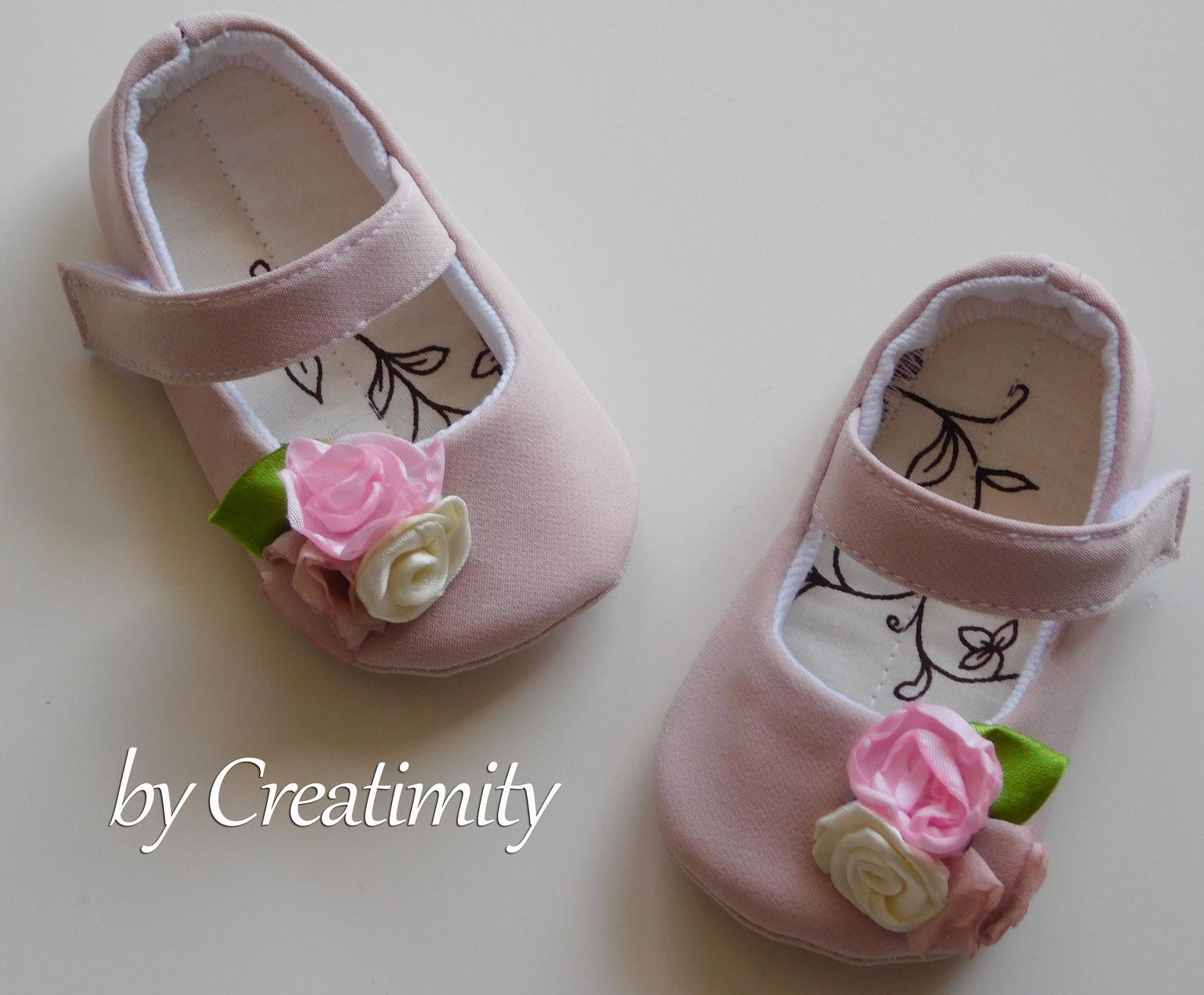 baby girl shoes flower girl shoes baby shower baby gift ballet slipper toddler wedding shoes ballet flats dance shoes dusty pink