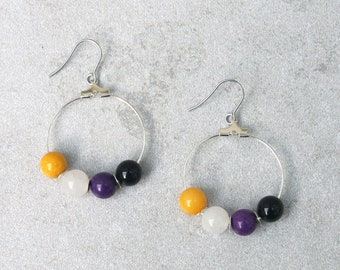 Nonbinary Pride Earrings // Pride Collection // Inclusion, Sexuality, LGBTQ, Queer // Gift for Her // Gift for Him // Gift for Them