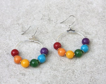 LGBTQ+ Pride Earrings // Pride Collection // Inclusion, Rainbow, Sexuality, LGBTQ // Gift for Her // Gift for Him // Gift for Them