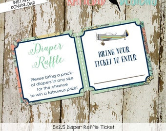 Travel Themed Invitation oh the places you'll go baby shower Adventure Awaits world map Diaper raffle ticket wipe 12124 Katiedid Designs
