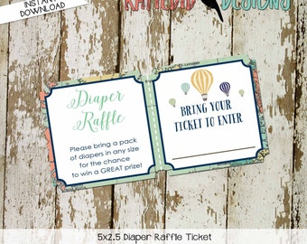Travel Themed Invitation oh the places you'll go baby shower Adventure Awaits world map Diaper raffle ticket wipe 1466 Katiedid Designs