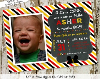 Mickey mouse birthday invitation Disney baby shower gender neutral reveal Diaper wipes Brunch ultrasound photo picture | 243 katiedid cards