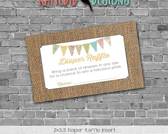 touchdowns or tutus gender reveal baby shower rustic chic lace burlap boots or bows Diaper raffle ticket wipe gay 1410 1431 Katiedid Designs