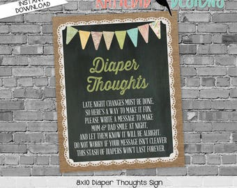 late night diaper game sign touchdowns or tutus gender reveal surprise gender burlap lace invite rustic chic chalkboard 1431 Katiedid design