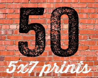 50 PRINTED INVITATIONS and white envelopes FREE shipping katiedid designs cards