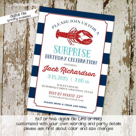 nautical couples shower invitation coed baby shower boy twins rehearsal dinner I do BBQ engagement party birthday gay | 268 Katiedid Designs