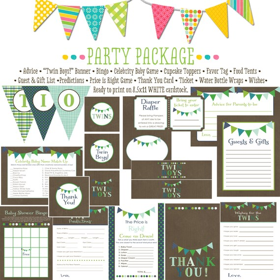 rustic baby boy shower invitation b is for baby invite baby shower party package bunting banner wishes for baby advice 1516 katiedid designs