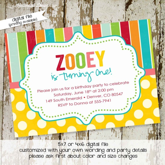 rainbow invitation unicorn birthday first 1st baby shower couples coed I do bbq engagement party girl gay LGBT gender | 222 Katiedid designs