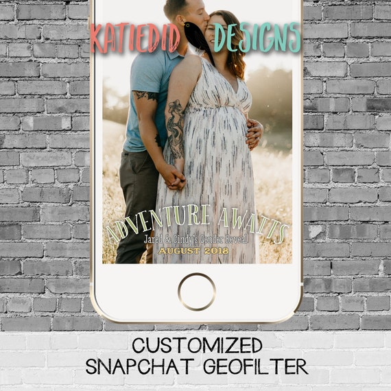 snapchat filter gender reveal adventure awaits hot air balloons oh the place travel theme baby shower neutral twin geofilter | 1455 Katiedid