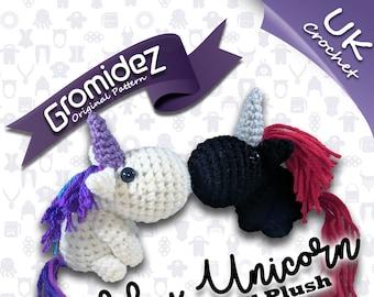 Chubby Unicorn Small Original Design - PATTERN ONLY - UK crochet terms