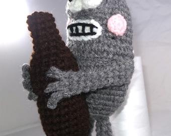 Futurama - Inspired Bender Crochet Plush