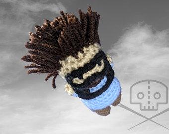 Deadpool - Inspired Peter Sugarbear Skydiving Crochet Plush