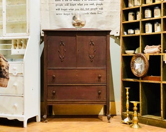 Antique Dresser | Vintage Dresser| Vintage Armoire | Antique Armoire | Vintage Cupboard | Antique Cupboard | Nursery Furniture Kids Armoire