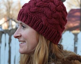 1db81a4dfec Cable Knit Hat