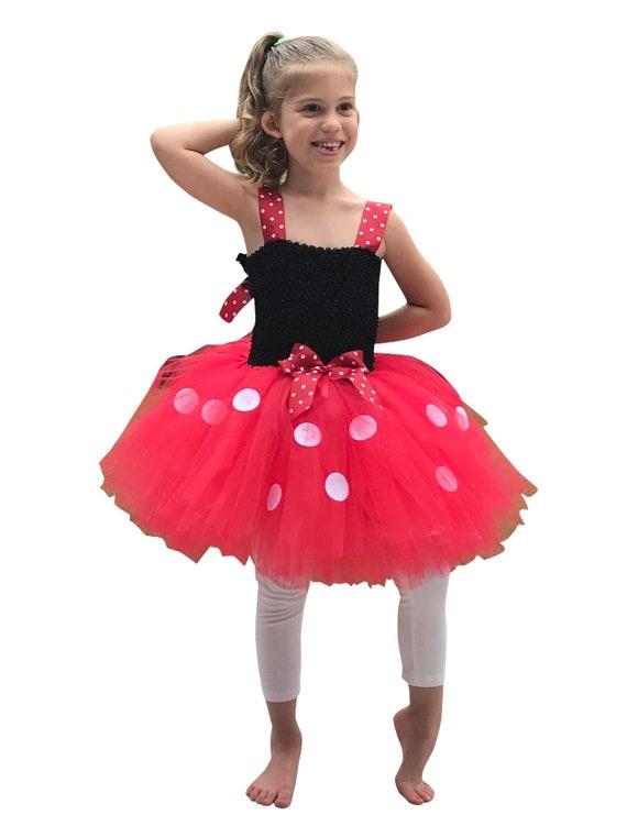 Minnie Tutu Dress Red Minnie Tutu Dress Halloween Trick or Treat Halloween Party Birthday Christmas