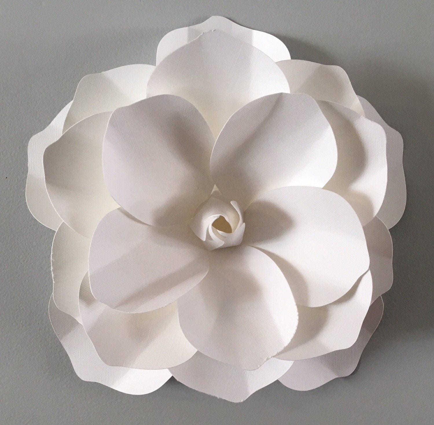 Extra Large 3d Wall Magnolia Flower White Magnilia Flower Etsy