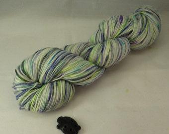 Violets Hand Dyed Sock Yarn