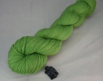 Sour Apple Hand Dyed Sock Yarn