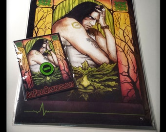 Pin & Print Combo! Type O Negative and Peter Steele