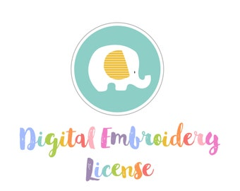 Digital Embroidery License.