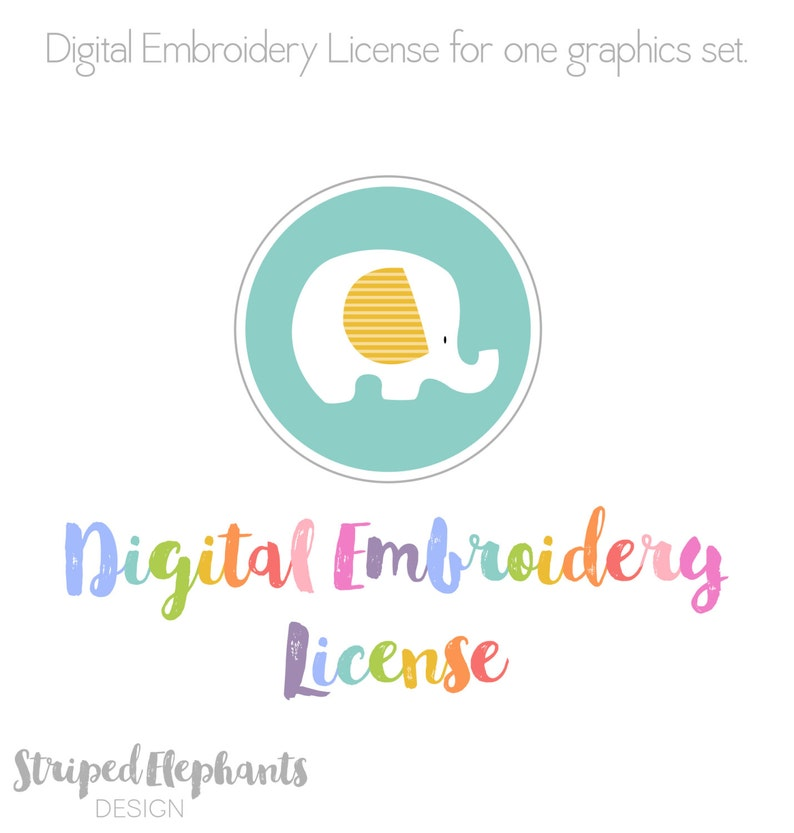 Digital Embroidery License. image 1