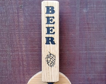 "Triangle ""BEER"" Tap Handle"