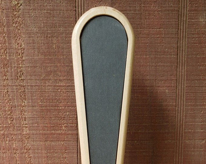 Maple Beer Tap Handle with Slate Insert