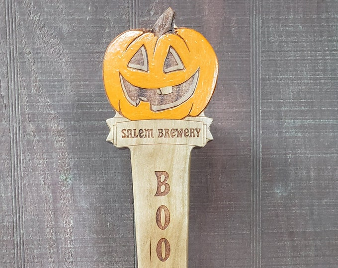 Pumpkin Tap Handle