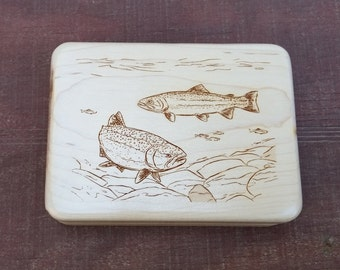 Laser Engraved Fly Box