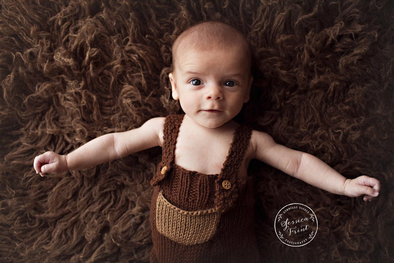 ed6ec8e79944 Lorcan Baby Overalls or Shorties Knitting PATTERN PDF for