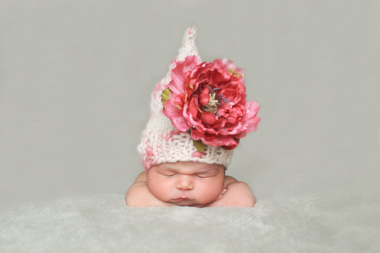 Patron en espanol Flower Fairy Hat Pattern the Spanish   Etsy