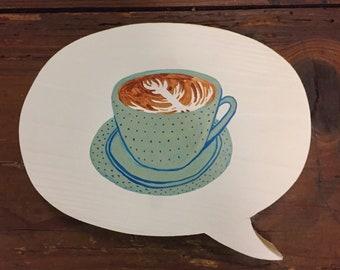 Latte for your Bah-tay? (Aqua)
